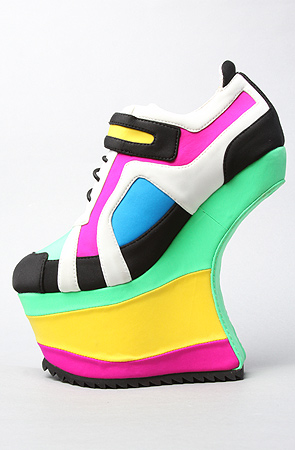 High heel sneakers by Jeffrey Campbell – High Heels Daily