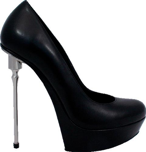 GML metal heels