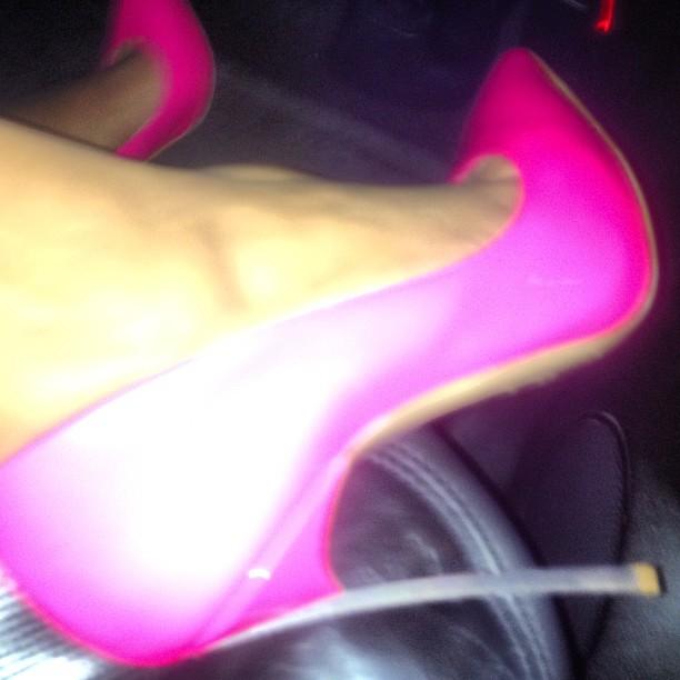 Kim Kardashian's High Heels