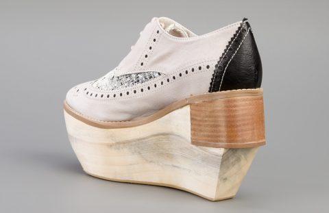 strangest wedge heels