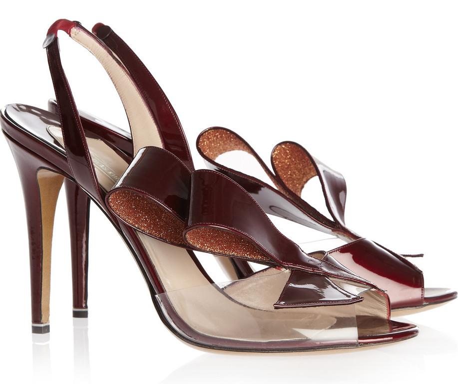 Nicholas Kirkwood Joins The Clear Pvc Designer High Heels