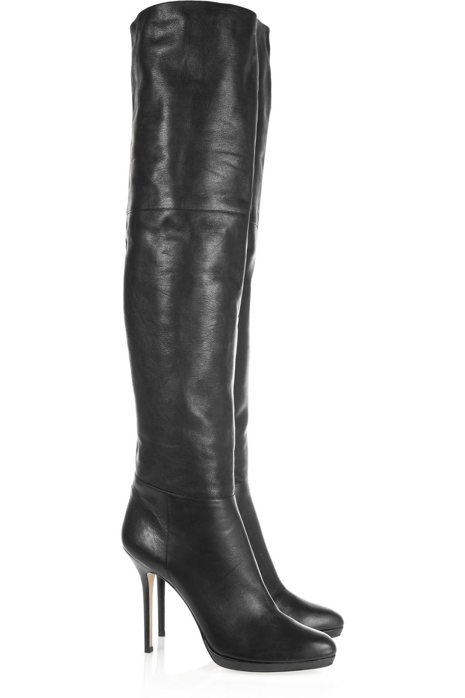jimmy choo thigh high boots david simchi levi