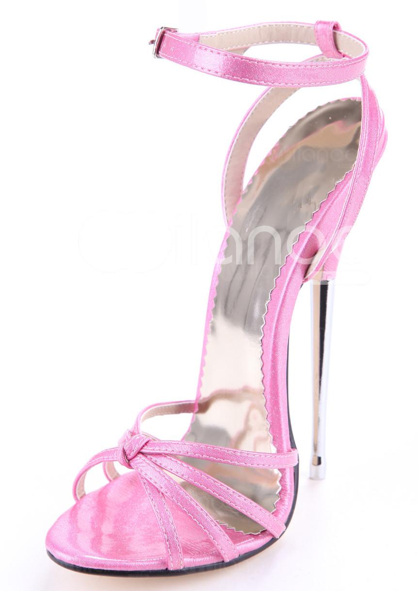 6 Inch Pink Heels