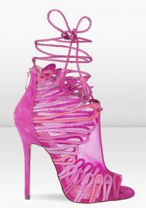 Pink Jimmy Choo sandals