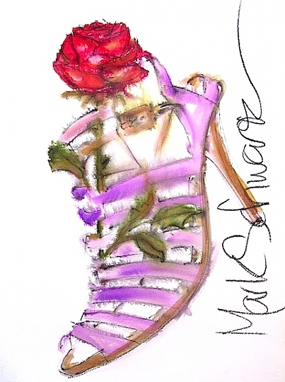 Mark Schwartz high heeled art