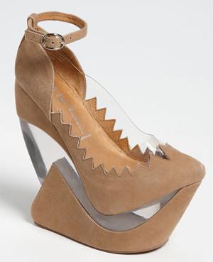 Jeffrey Campbell tan shoes