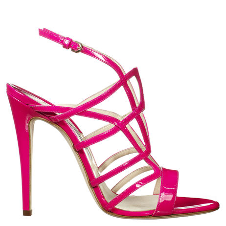Brian Atwood pink high heels