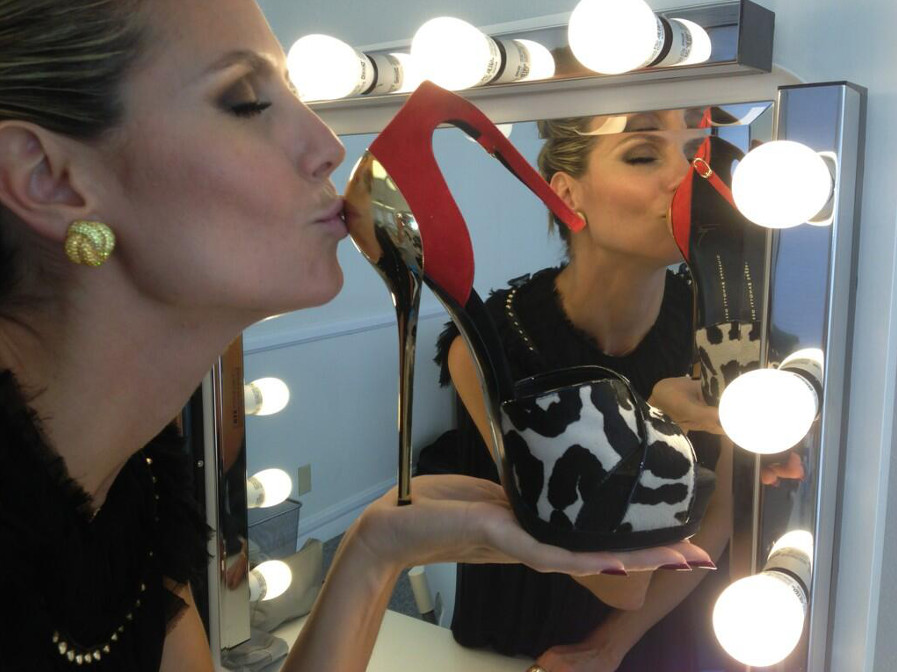 The Giuseppe Zanotti high heels that made Heidi Klum swoon