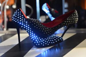 Light up high heels