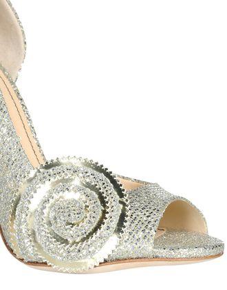 silver stilettos