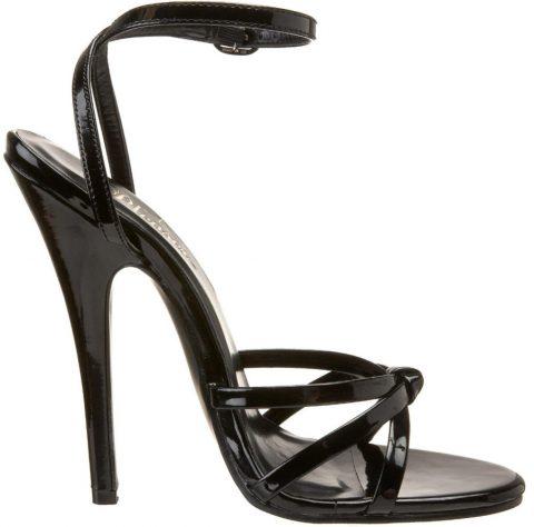 pleaser domina sandals