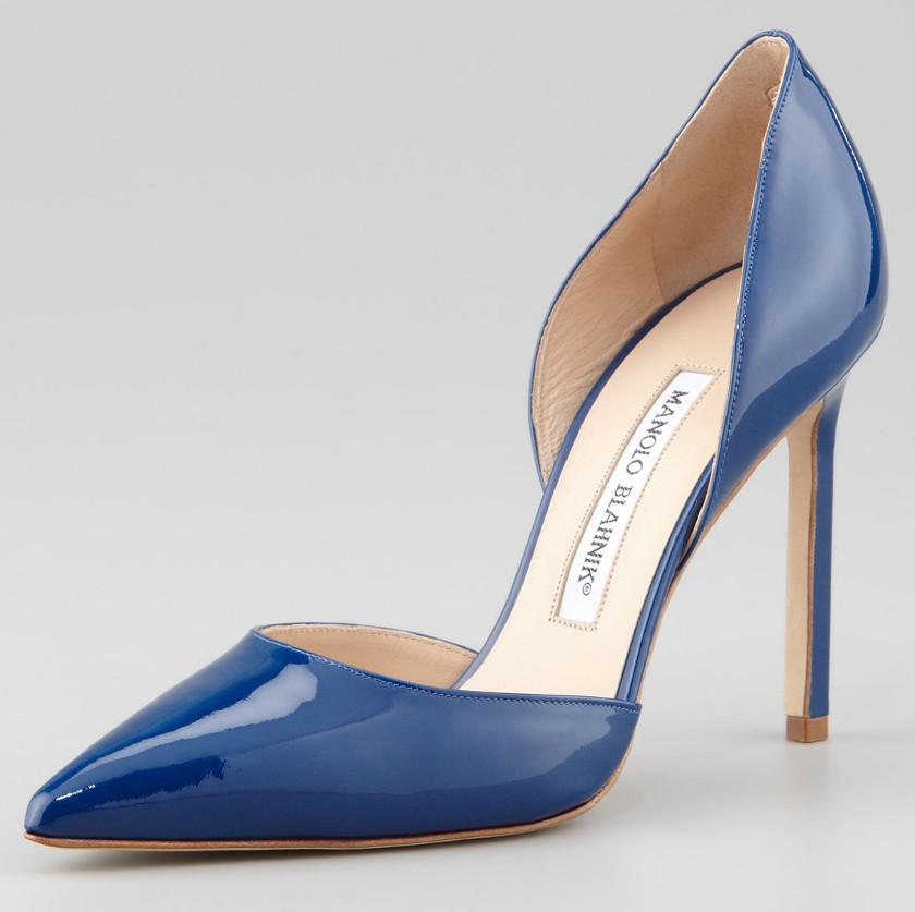 manolo blahnik high heel sneakers