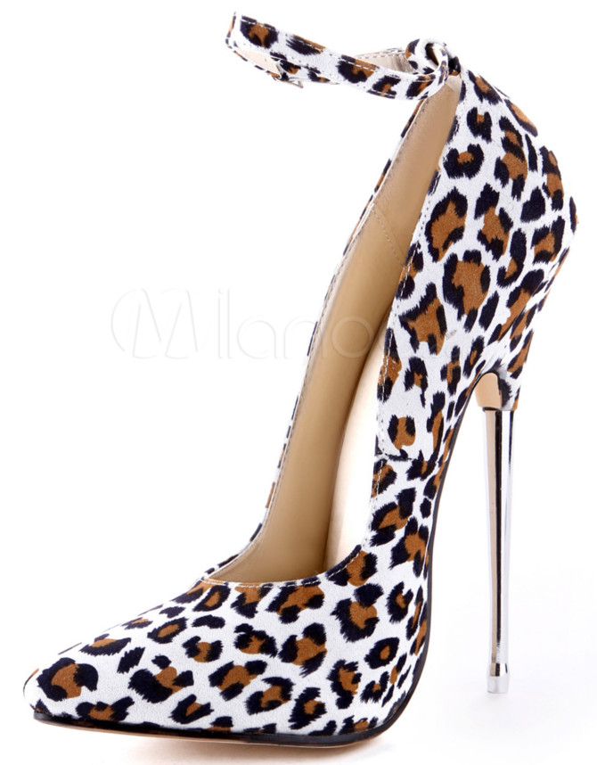 sexy leopard print stilettos