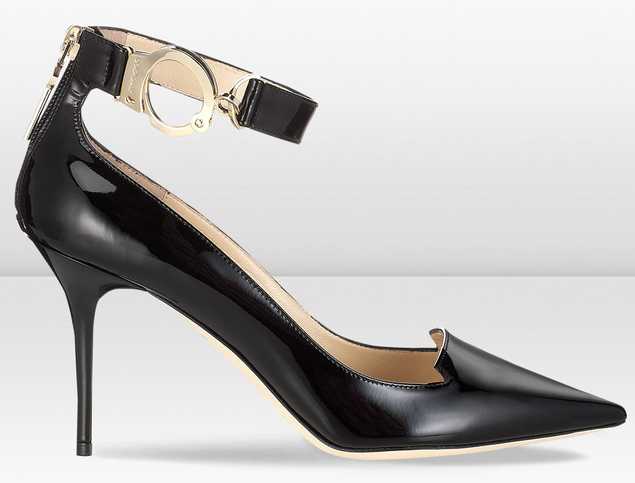 199dc85889a030 Handcuff yourself to Jimmy Choo s Fall   Winter 2013 collection ...