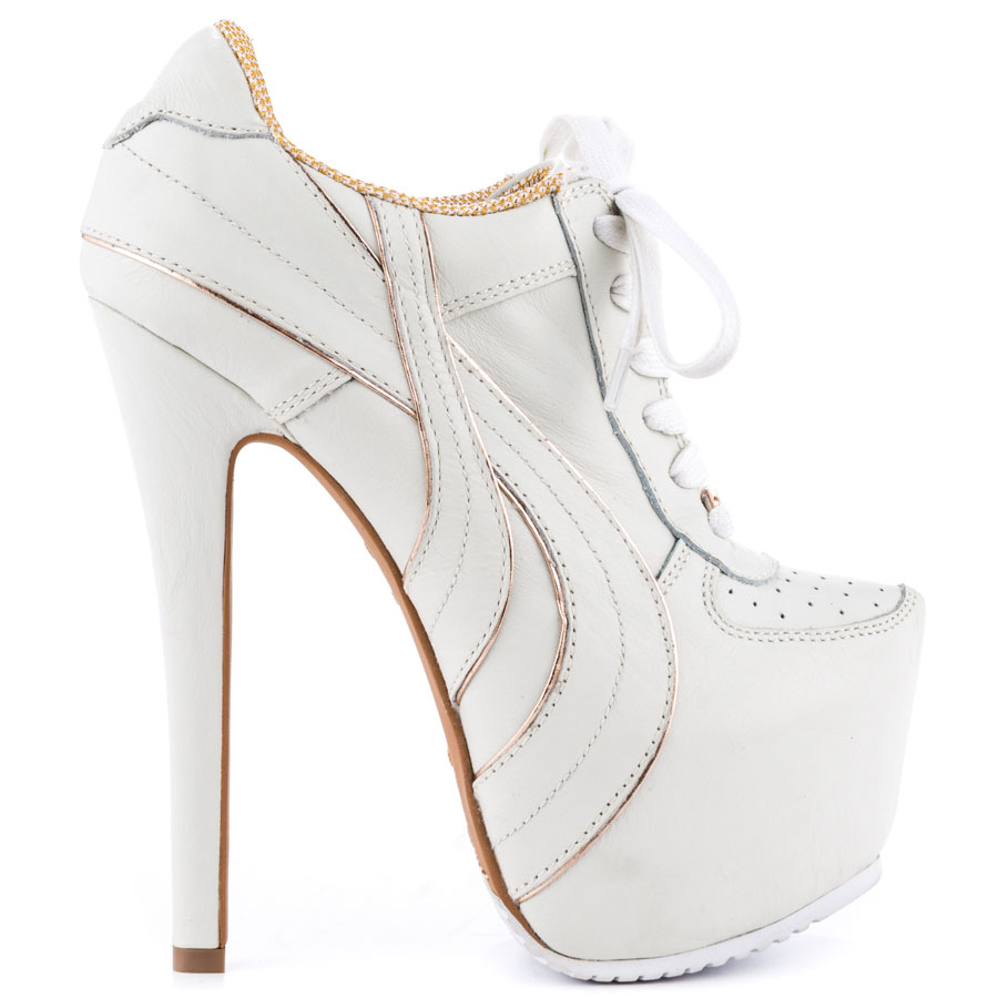 Sneaker high heels – High Heels Daily