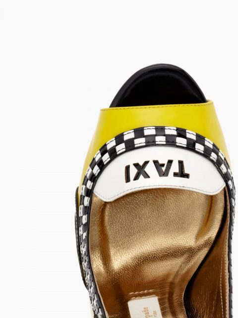 Kate Spade High Heels Yellow and Black