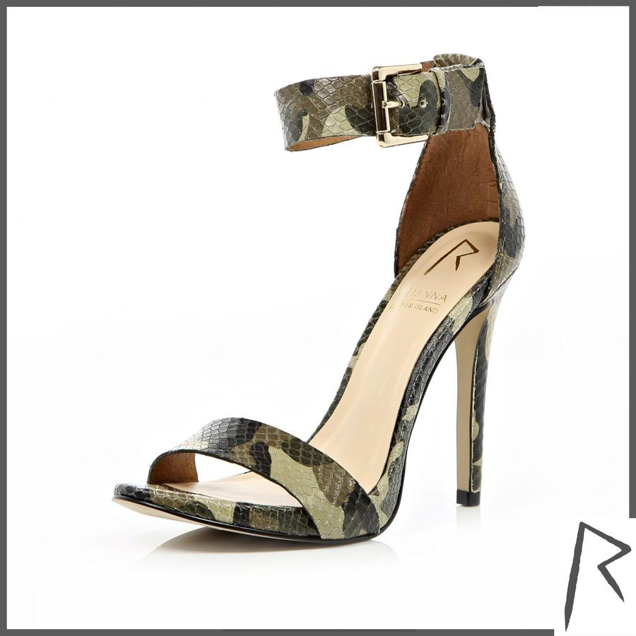 Camo Shoes Heels