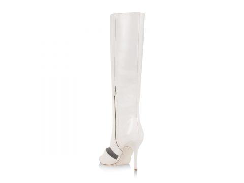 White High Heel Boot
