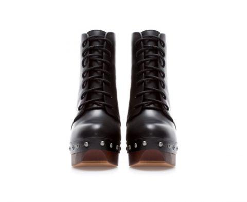 wooden heels zara