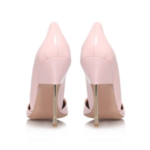 Pink High Heel Court Shoes