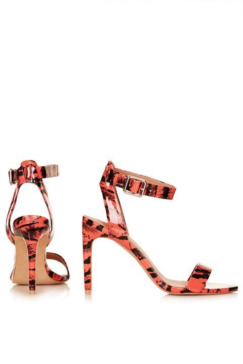 Tiger Print High Heels