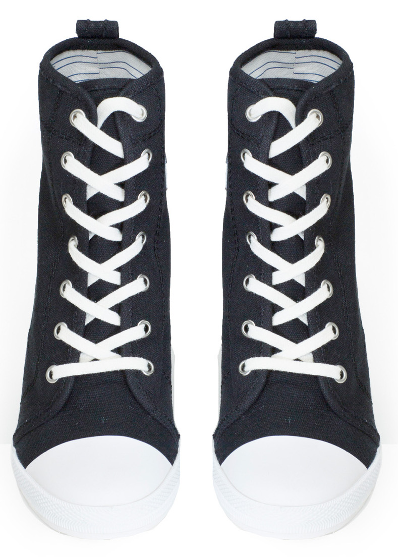 a728a37b337495 High heel sneakers by Donna Karan for Opening Ceremony