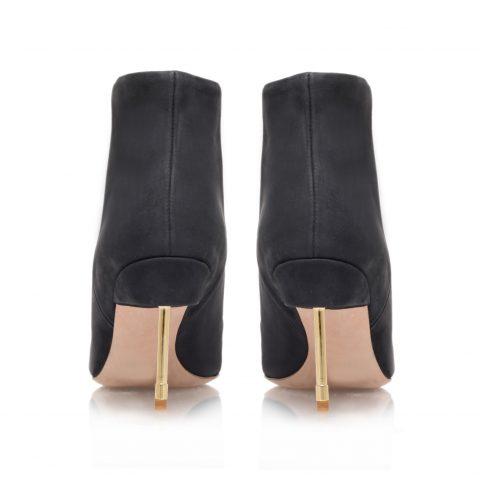Gold High Heel Boots