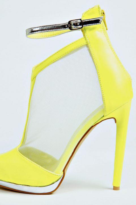 Lime High Heels