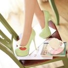 Lipstick shoes