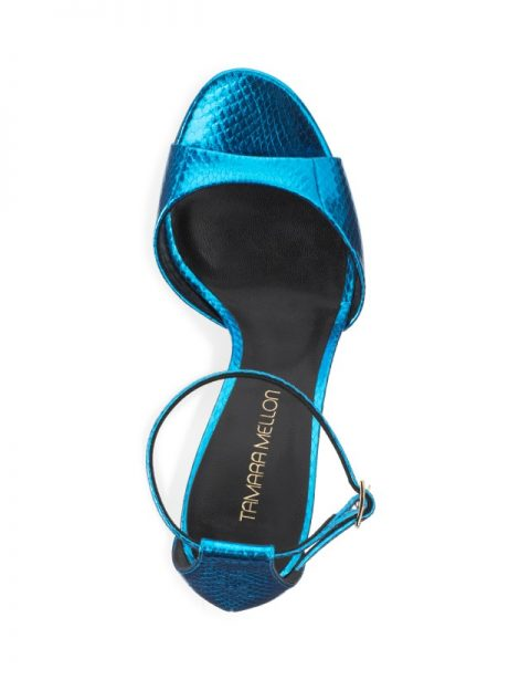 Turquoise Sandal by Tamara Mellon