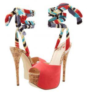 cork high heels 2014