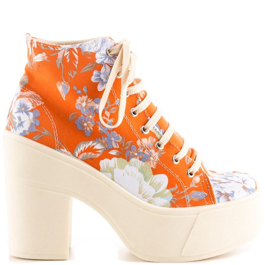 sneaker high heels