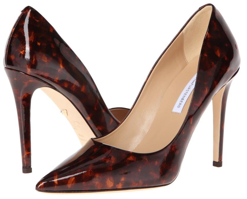 tortise high heels