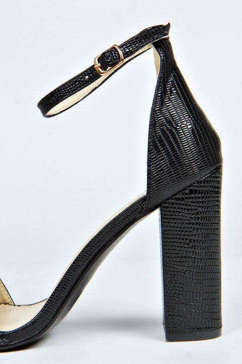 Black Block High Heels