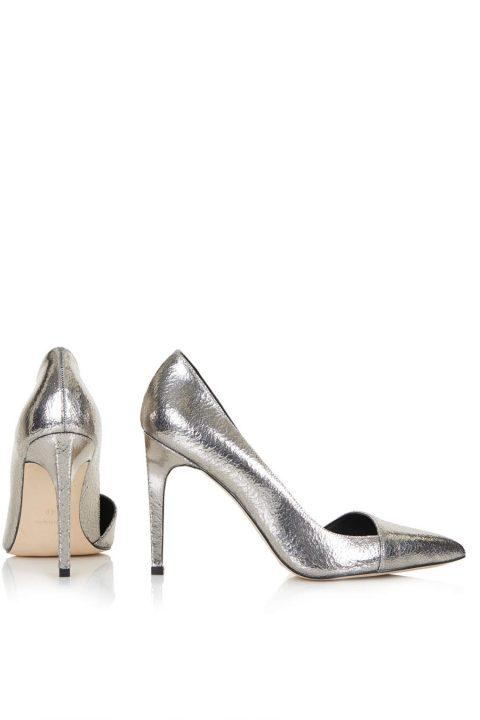 Topshop Silver High Heels