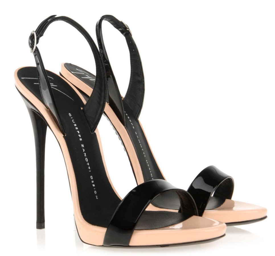 image Giuseppe zanotti high heel platforms in motion