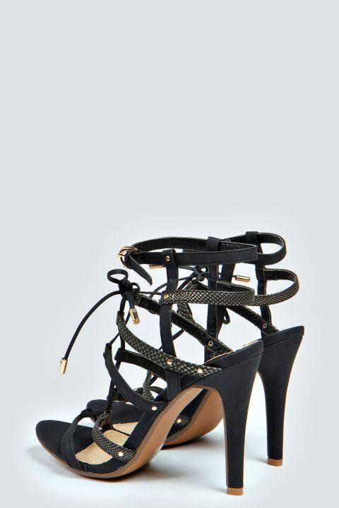 Multi strap high heels