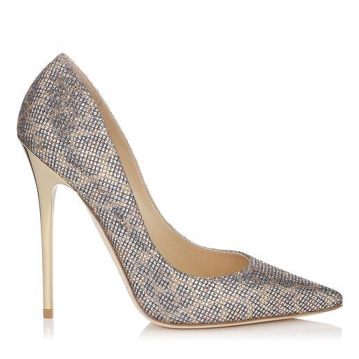 Jimmy Choo glitter high heels