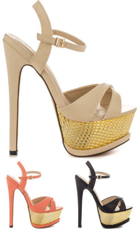 strappy party platform sandals