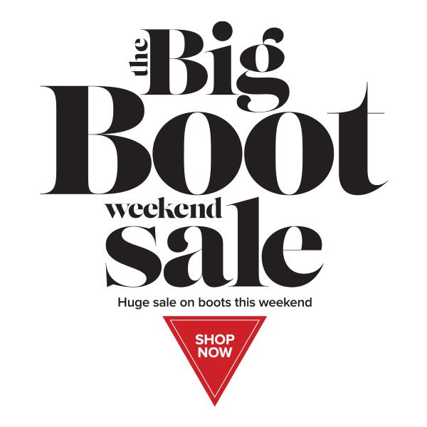 Huge weekend online boot sale!