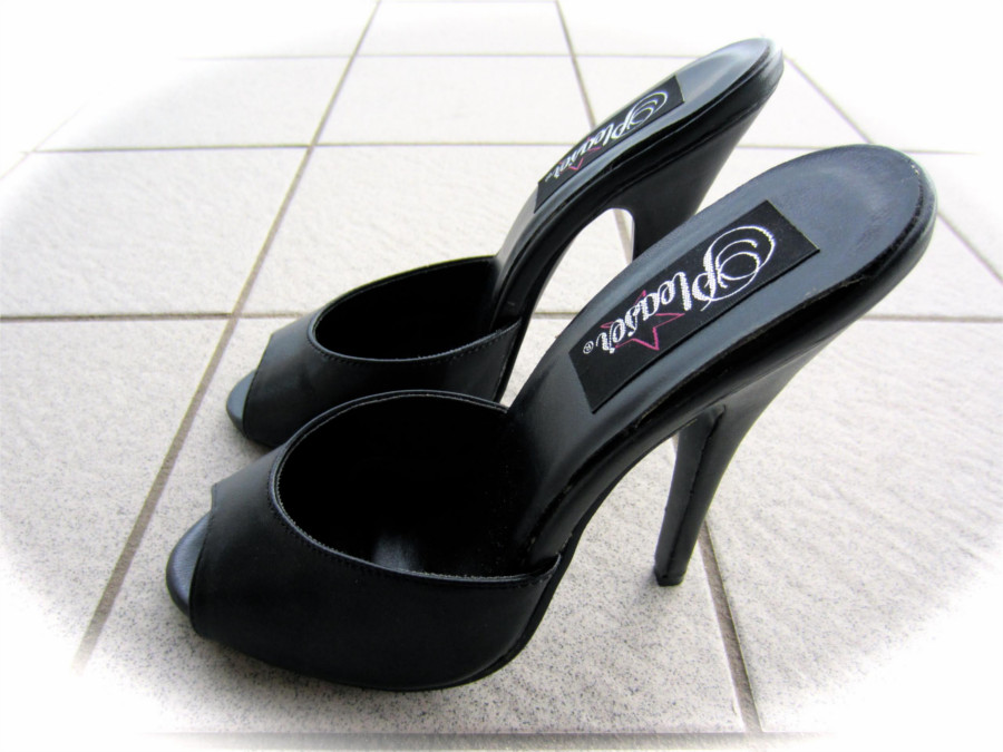 Pleaser Domina 6 inch mules