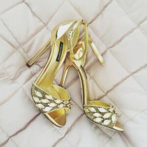 Kylie Minogue Dolce Gabbanna heels