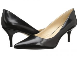 Nine West Margot black leather