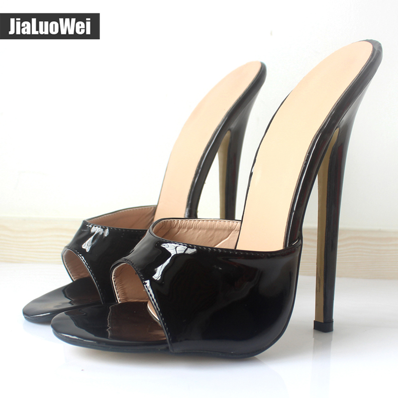 Lovely Extremely High Heeled Mules