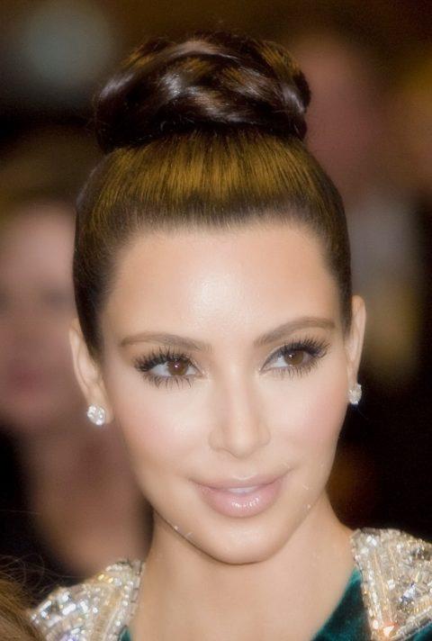 Kim Kardashian high heels