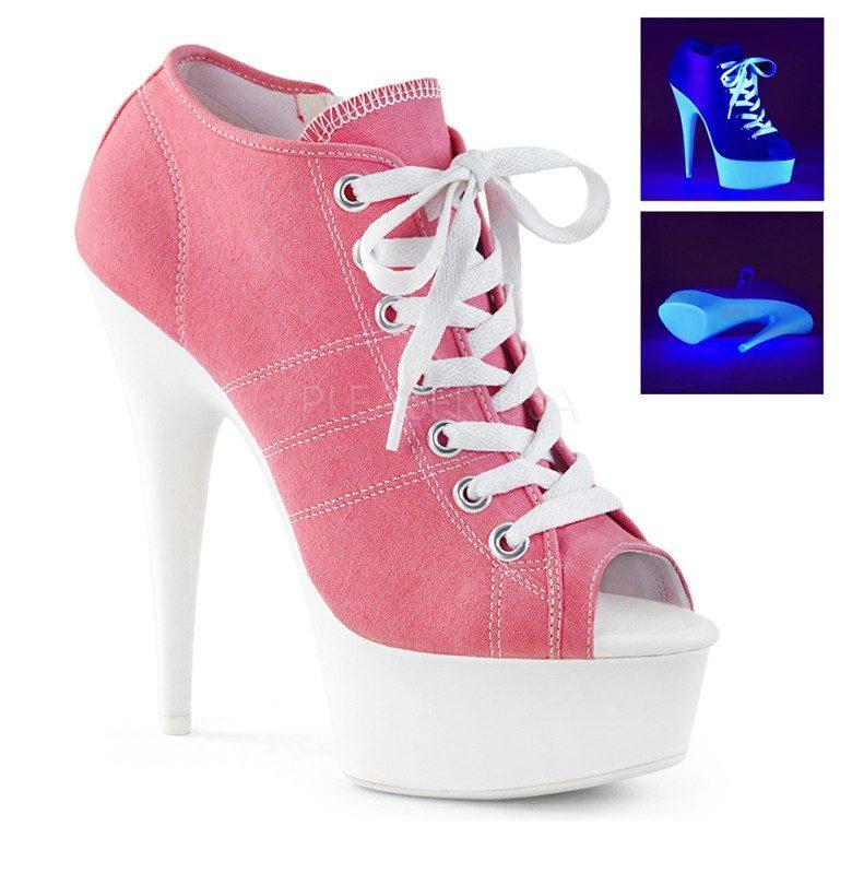 Sneaker heels (rare) – High heels daily